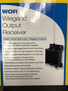 Linear Wor Acp00727 26 31 Bits Wiegand Output Receiver Access Control Systems