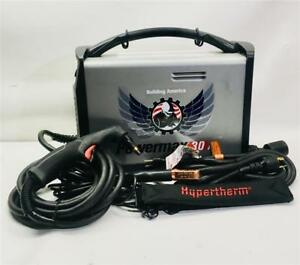 Hypertherm Powermax 30 Air Plasma Cutter 088090 W Built in Air Compressor