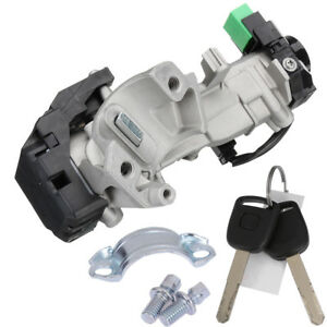 New Ignition Switch Cylinder Lock Auto Trans Kit Fit For 2003 2007 Honda Accord