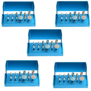 5kits Composite Polishing Set For Dental Clinic Low Speed Contra Angle Handpiece