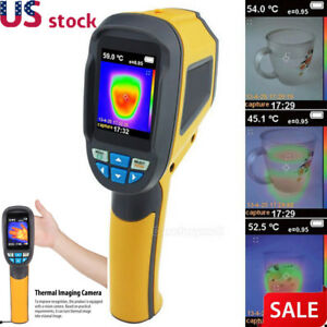Ht 02d Handheld Thermal Imaging Camera Infrared Thermometer Imager Ir 300 Us