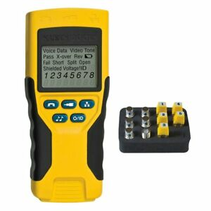 Cable Tester Vdv Scout Pro 2 Traces And Tests Coax Data Telephone Cable