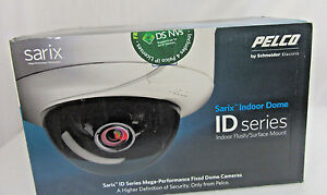 Pelco Sarix Id30dn 0 Network Fixed Indoor Dome Camera 3 1 Mp smoked No Lens
