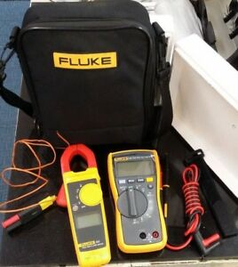 Fluke 116 True Rms Multimeter 323 True Rms Clamp Meter Kit