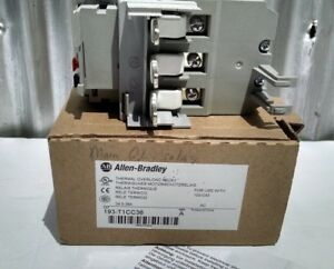 Allen Bradley Thermal Overload Relay 193 t1cc36 New In Box