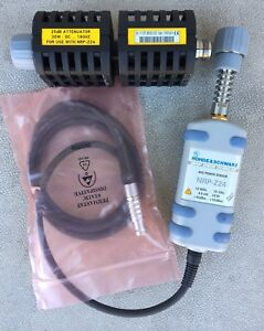 Rohde Schwarz Nrp z24 Average Power Sensor 10mhz 18ghz With 25 Db Attenuator