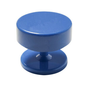 Blue Easy Round Magnetic Dental Lab Bur Holder Stand Station Hold Fg