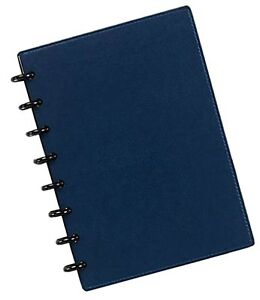 Levenger Circa Smooth Sliver Notebook With Pockets Junior ads8795 Rb Jnr Nm