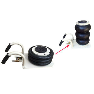 Intbuying 6600lbs 3 Ton Lifts Triple Stage Bag Air Go Jack Car Truck Portable