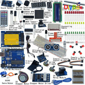 Ultimate Starter Kit For Arduino Uno R3 Lcd 1602 Servo Motor Relay Rtc Led