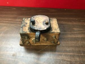 Vintage Model T Atwater Kent Ignition Coil Box Switch Original 818
