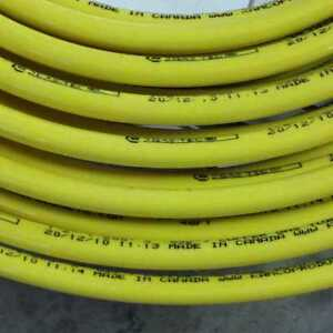 1 2 Gas tec Coated Copper Under Ground Propane Natural Gas Tubing 50 Ft