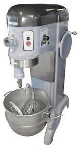 Hobart H600 H 600 60qt Mixer W Hook Paddle Whisk Bakery Dough Three Phase