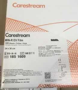 Carestream kodak Medical X ray Film Min R ev 24x30 Cm