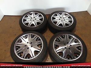 Jdm Wheels Varianza D3s 18 Inch Wheels 5x114 3 Jdm Wheels Work 18x75 Jj 48 Rims