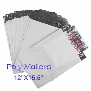 100 4000 Big Size 12x15 5 Poly Mailers Courier Shipping Bags Usps Fedex Ups Dhl