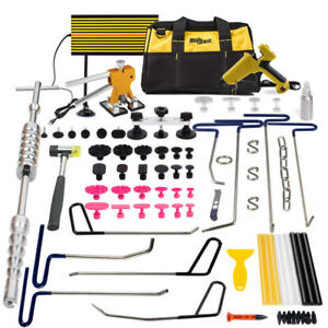Pdr Tools Dent Repair Puller Lifter Removal Hail Rods Paintless Led Board Hammer