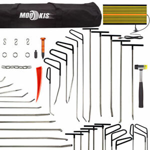 Us Pdr Repair Hail Paintless Tool Removal Dent Hammer Puller Rods led Line Board
