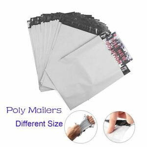 100 2000 Poly Mailers Shipping Plastic Envelope Different Size Self sealing Bags
