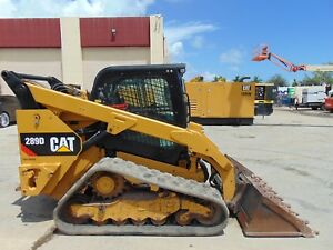 2016 Cat 289 d Turbo 2 Speed Big 74 Hp Turbo Air Conditioned Power Coupler