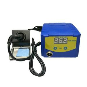 938d 75w 220v Digital Display Soldering Iron Station Timer Dormancy Welding Tool