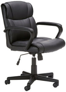 Amazonbasics Hl 002566 Mid back Office Chair New