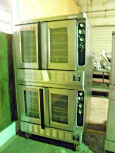 Blodgett Dual Flow Dfg 100 Full Size Double Stack Natural Gas Convection Oven