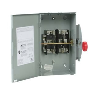 Manual Transfer Switch 100 Amp 240 Volt Non fused Eaton Dt223urh n