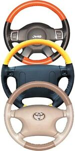Mitsubishi Perforated Custom 1 2 Color Leather Steering Wheel Cover Wheelskins