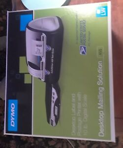 Dymo Desk Top Label And Postage Printer With 10lb Scale