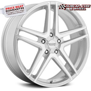 American Racing Ar907 Silver Machined 15 x7 Wheels Rims set Of 4 Free Us Ship