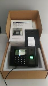 Paychex Px3500 2500 Biometric Fingerprint Time Attendance Time Clock L k
