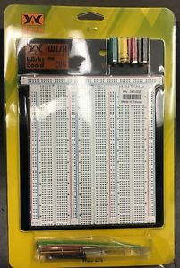 New Large Wishboard Wbu 206 Solderless Breadboard Perfect For Electronic Student