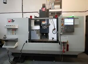 Haas Tm 2p Cnc Toolroom Mill 20 Tools Probe Low Hours