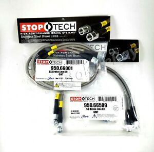 Stoptech Ss Front Rear Brake Lines For 2005 Chevrolet Silverado Quadrasteer