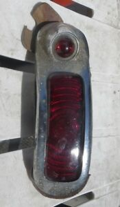 1940 Buick Roadmaster Tail Light Complete Lens Ring Bezel Housing 40 Left