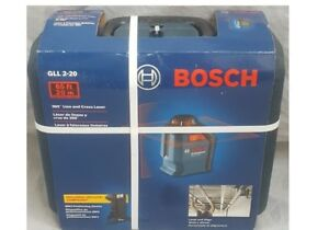 Bosch Professional Gll 2 20 360 65 ft Self Leveling Line Generator Laser Level