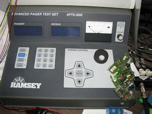 Advanced Pager Test Set Apts 3000 Electrical Test Equipment By Ramsey