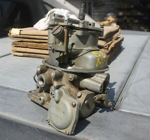 1956 1957 Ford Thunderbird Mercury 4 Bbl Tea Pot Core Carburetor