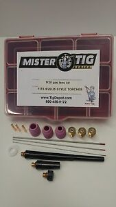 9 20 Gas Lens Kit By Mister Tig