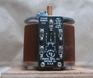 Ohmite Vt4 Variable Transformer 120 Volt 3 5 Amps Nos Nib Variac No Knob