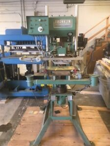 Franklin 8200 Hot Stamping Press