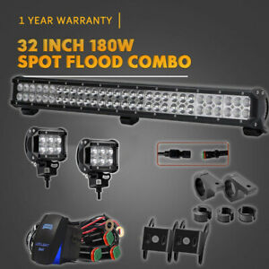 28inch Led Light Bar Kit For Ford New Holland Cab Tractor 6600 6610 6700 6710 T