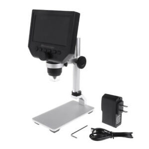 Usb Digital Electronic Microscope With 4 3 Hd Screen For Pcb Motherboard Repair