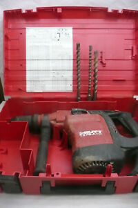 Hilti Te 76 Atc Rotary Hammer Drill Sds Max Chipping With Bits