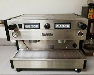 Gaggia Xd 2 station Commercial Espresso cappuccino Machine Accessories