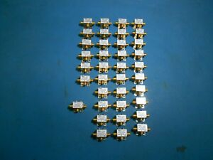 Mini circuits Assorted Splitters Lot Of 37