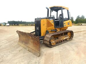 2012 John Deere 650k Xlt Crawler Dozer With Only 2684 Hours