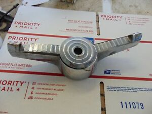 1955 Ford Steering Wheel Horn Button Ring Trim Fdh 3624c