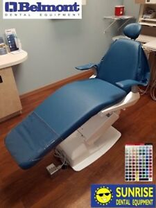 Belmont Bel 20 X calibur Dental Patient Chair upholstery Color Of Choice